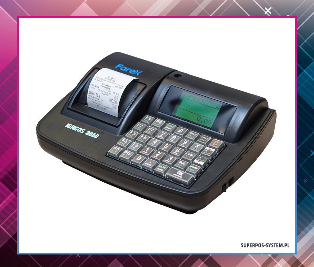 Farex i-Ergos 3050 - kasa fiskalna z elektroniczną kopią paragonów