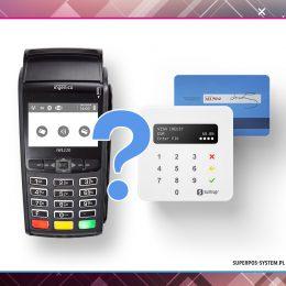 Różne terminale płatnicze